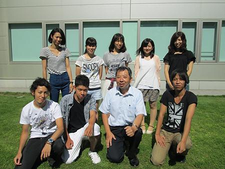 渡邉ゼミの3年生のメンバーです。