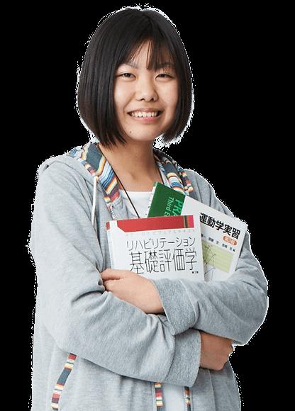 理学療法学科/篠﨑 若菜